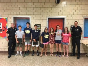 Citizenship Awards - Jefferson Middle School 2016